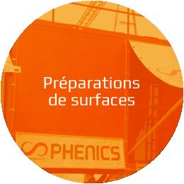 Préparation de surfaces