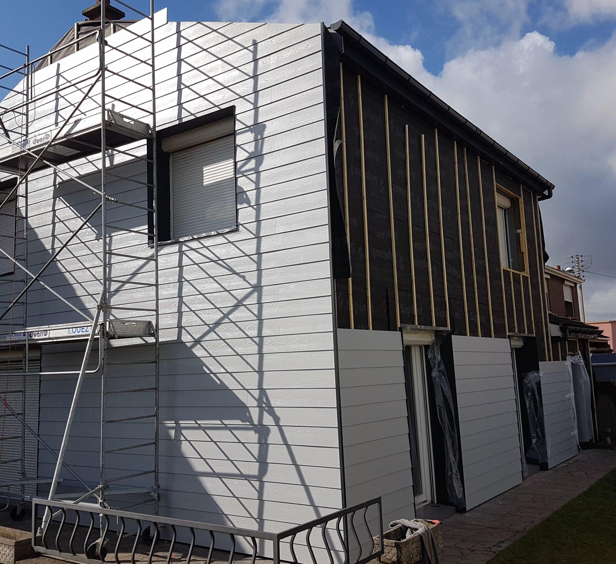 Isolation Mur Exterieur Renovation isolation thermique des murs par l'extérieur (ite) - dpi cets